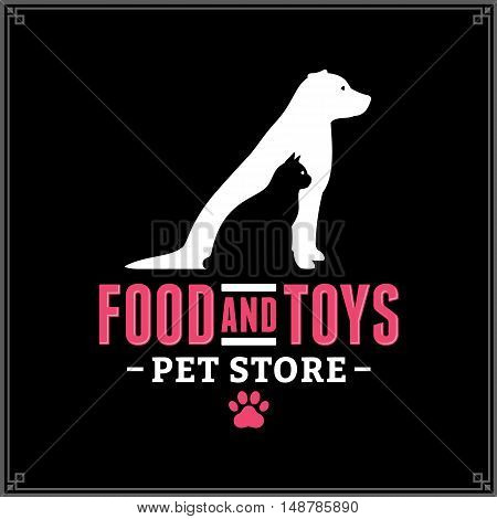 Vector Pet Store Logo