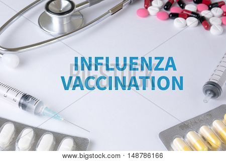 Influenza Vaccination Concept