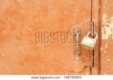Bolt locks background Bolt locks must be opened by a key.