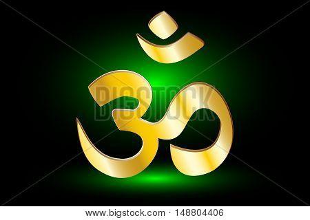 symbol of Hinduism , Om symbol of Hinduism