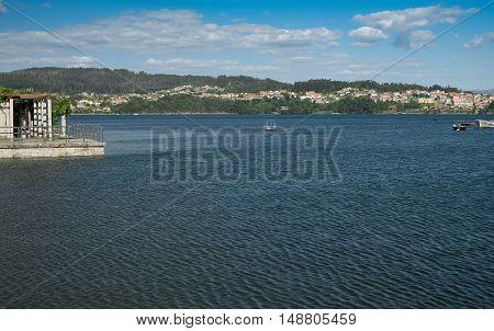 Pontevedra ria holiday resort and very tourist