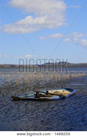 Boat Under Water