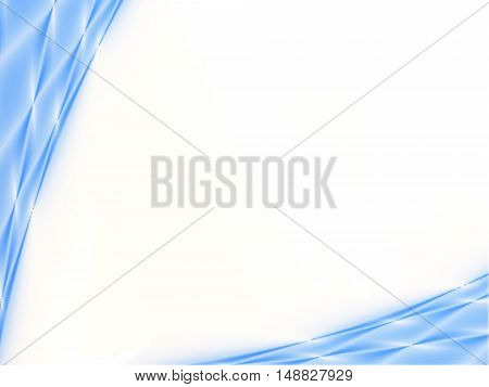 Abstract blue and white background for ppt template.