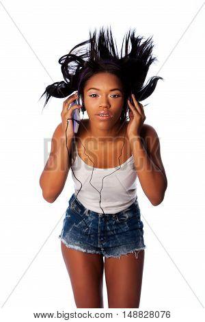 Listening Jamming To Music