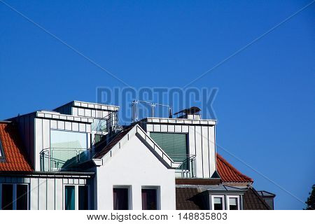 New Construction Apartment With Dormer