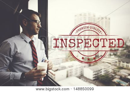 Classified Inspected Inspection Pass Status Concept