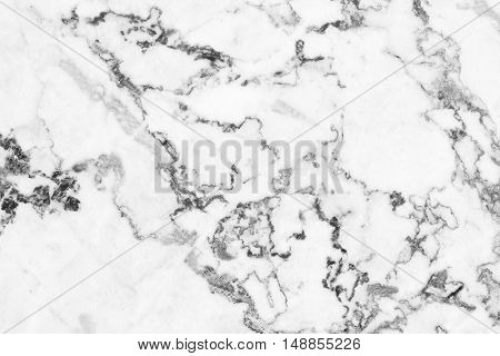 White marble natural pattern for background abstract natural marble black and white for design