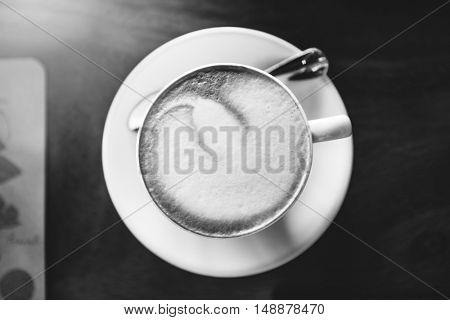 Coffee Cafe Energy Invigorate Refreshment Drink Concept