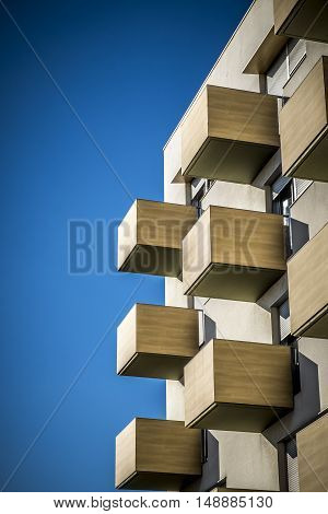Contemporary Building In Sant Cugat Del Valles