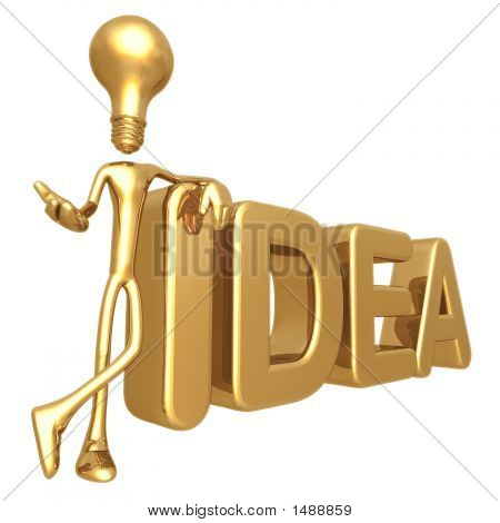 Lightbulb Idea Presenter