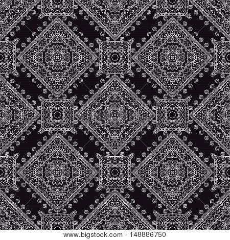 Ornamental paisley pattern for textile wrapping bandanna