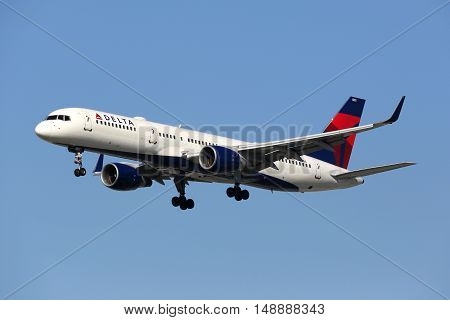 Delta Air Lines Boeing 757-200 Airplane
