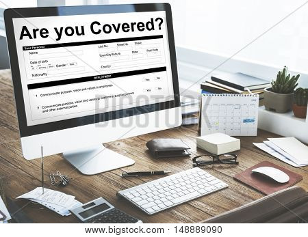 Are You Covered Insurance Concept