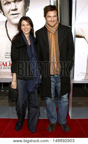 "Amanda Anka and Jason Bateman at the World Premiere of ""Walk Hard"" held at the Grauman's Chinese Theater in Hollywood, USA on December 12, 2007."