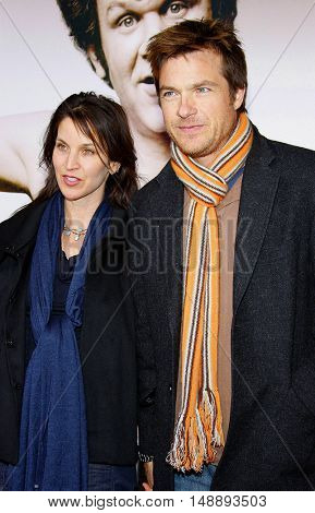 Amanda Anka and Jason Bateman at the World premiere of 'Walk Hard' held at the Grauman's Chinese Theater in Hollywood, USA on December 12, 2007.