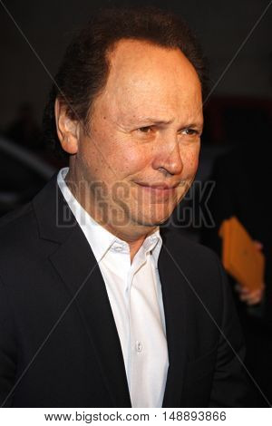 Billy Crystal at the World premiere of 'The Bucket List' held at the ArcLight Theaters in Hollywood, USA on December 16, 2007.