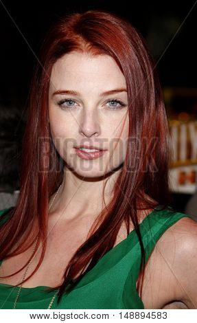 Rachel Nichols at the World premiere of 'Charlie Wilson's War' held at the Universal Studios in Hollywood, USA on December 10, 2007.