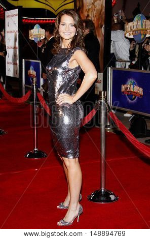 Hilary Angelo at the World premiere of 'Charlie Wilson's War' held at the Universal Studios in Hollywood, USA on December 10, 2007.