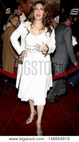 Rita Wilson at the World premiere of 'Charlie Wilson's War' held at the Universal Studios in Hollywood, USA on December 10, 2007.