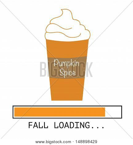 Happy Fall Autumn Pumpkin Spice Coming Soon
