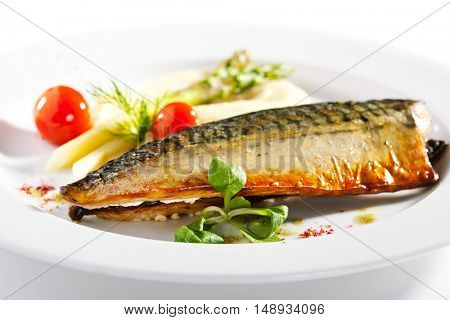 Smoked Fish with Mashed Potato