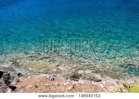 sea, nature, beach, waves, water, heat, stones