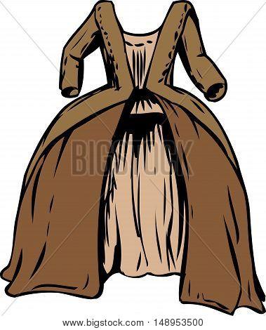 18Th Century Round Gown