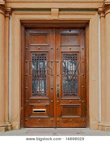 Ornate Wood Doors
