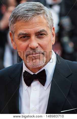 George Clooney at the Money Monster Premiere at the 69th Festival de Cannes. May 12, 2016  Cannes, France
