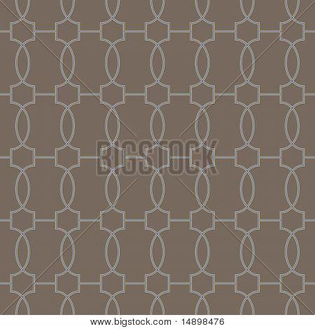 naadloze Marokkaanse tegels patroon