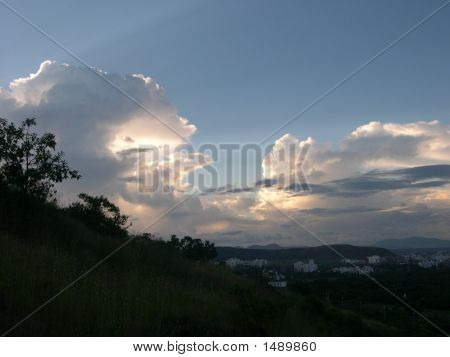 Clouds Over Baner