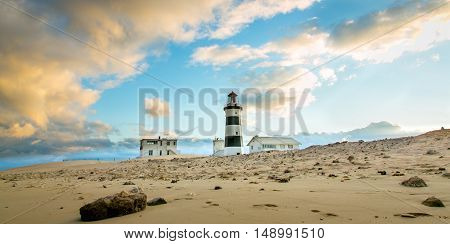 Lighthouse at Cape Recife Port Elizabeth South Africa