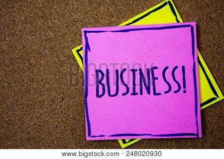 Conceptual Hand Writing Showing Business Call. Business Photo Text Trade Work Specialty Corporate Oc
