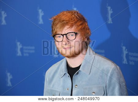 Ed Sheeran attends the 'Songwriter'  photo call during the 68th Film Festival Berlin at Grand Hyatt Hotel on February 23, 2018 in Berlin, Germany.