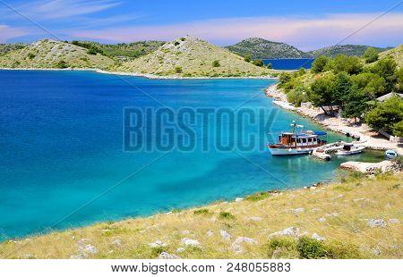 Kornati Islands National Park In The Adriatic Sea. Croatia.