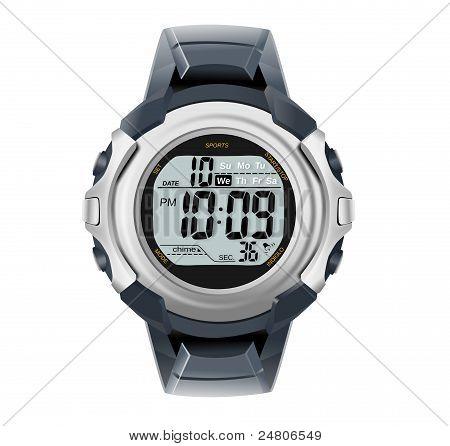 Wrist watch illustration