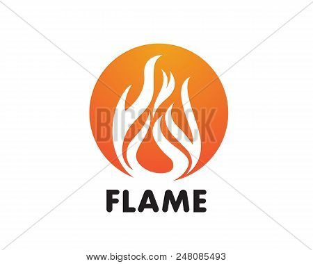 fire flame logo vector photo free trial bigstock