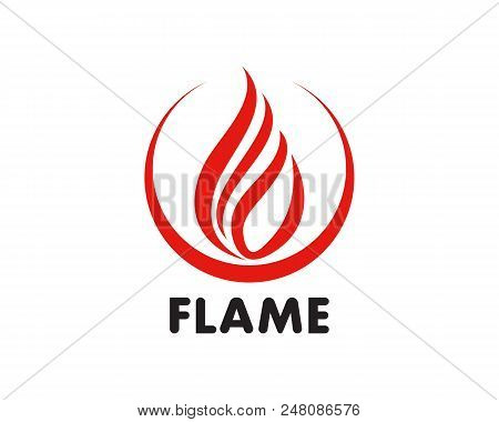 Fire Flame Logo Vector & Photo (Free Trial) | Bigstock