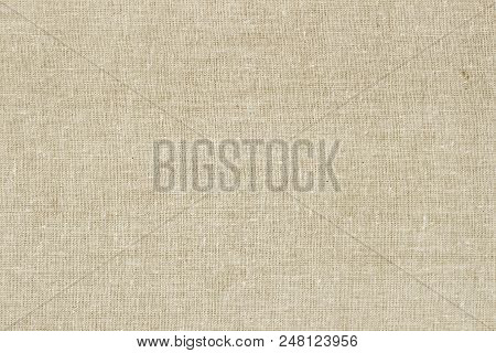 Sackcloth Or Burlap Background With Visible Texture Copy Space For Text And Other Web Print Design E