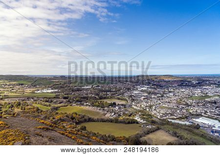 A View Over To Town Of Newtownards On 2012