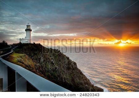 Byron Lighthouse Sunrise