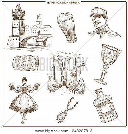 Czech Republic Travel Vector Photo Free Trial Bigstock