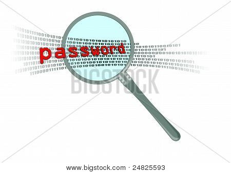 Inspect Password In Magnifier
