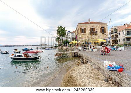 Fishing Boats In Foca Izmir