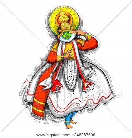 Kathakali Images Illustrations Vectors Free Bigstock