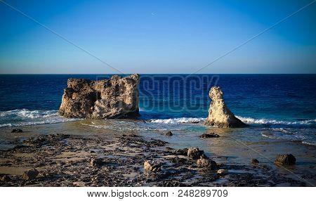 Landscape With Cleopatra Beach Near Mersa Matruh, Egypt