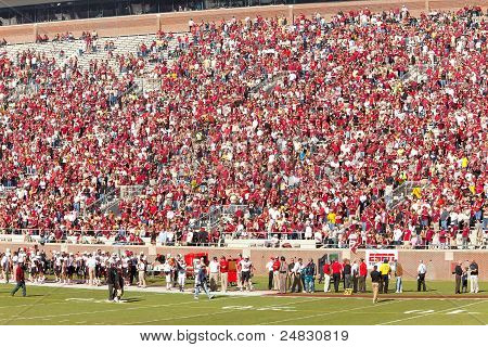 Florida State Home Football Crowd