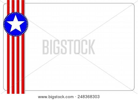 american ribbon flag vector photo free trial bigstock