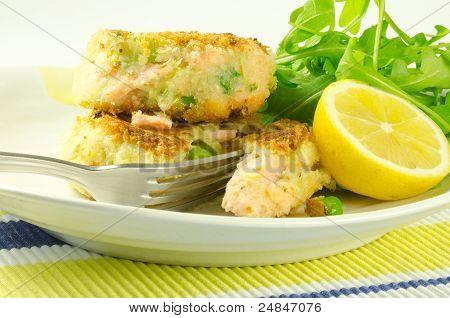 fresh salmon fishcakes
