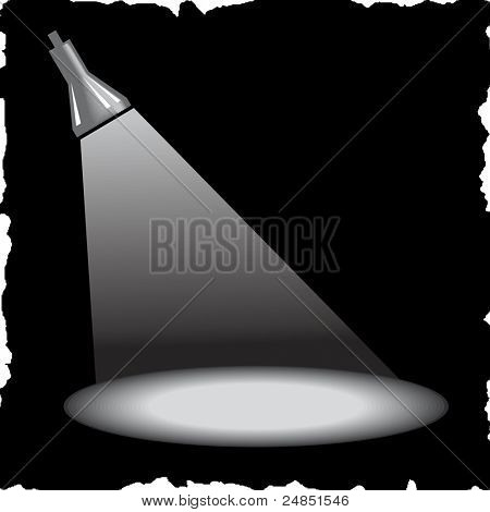 Grey vector projector